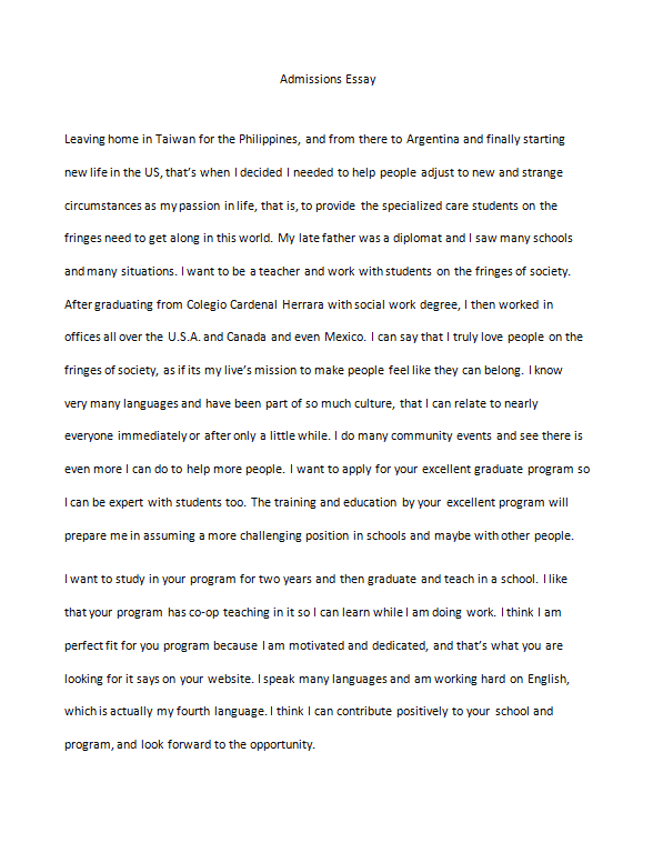 Best Teacher Ever Essay